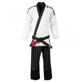 KIMONO JJB INVERTED COLLECTION BLANC & NOIR