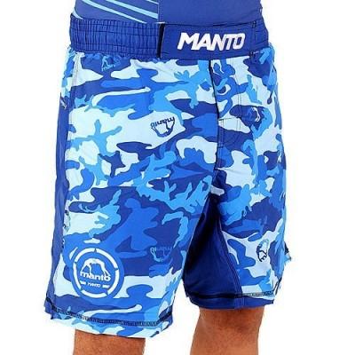 Fightshort MANTO CAMO bleu