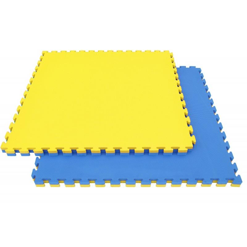 TATAMI PUZZLE 2.5cm bleu et jaune