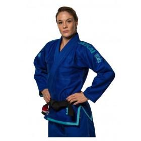KIMONO FUJI Sekai blue Lady