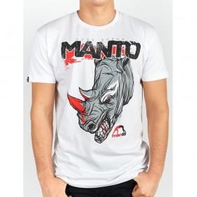 T-SHIRT MANTO RHINO BLANC
