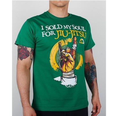 T-shirt MANTO SOUL VERT