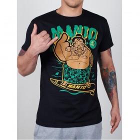 T-shirt MANTO SAMOA noir