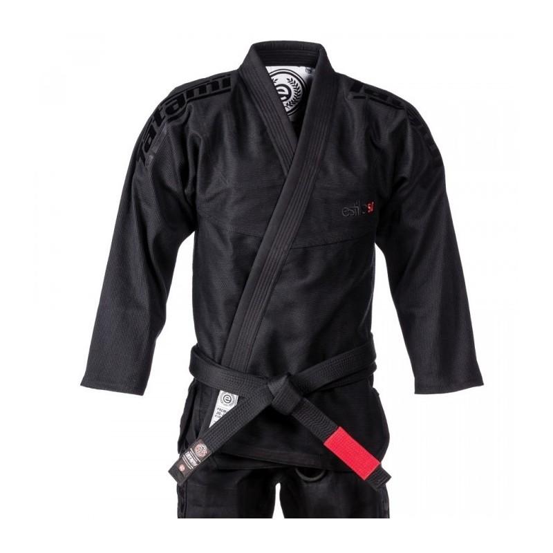KIMONO JIU JITSU TATAMI FIGHTWEAR Estilo 5.0 Black & Black