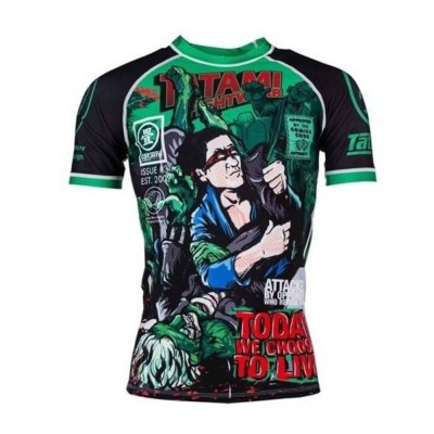 The Zombie Hunter Rash Guard