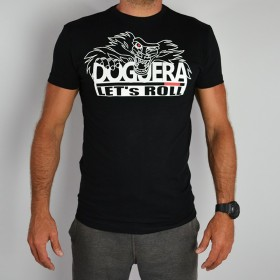 TEE SHIRT DOGUERA LETS ROLL