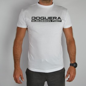 T Shirt DOGUERA Submission Fight White