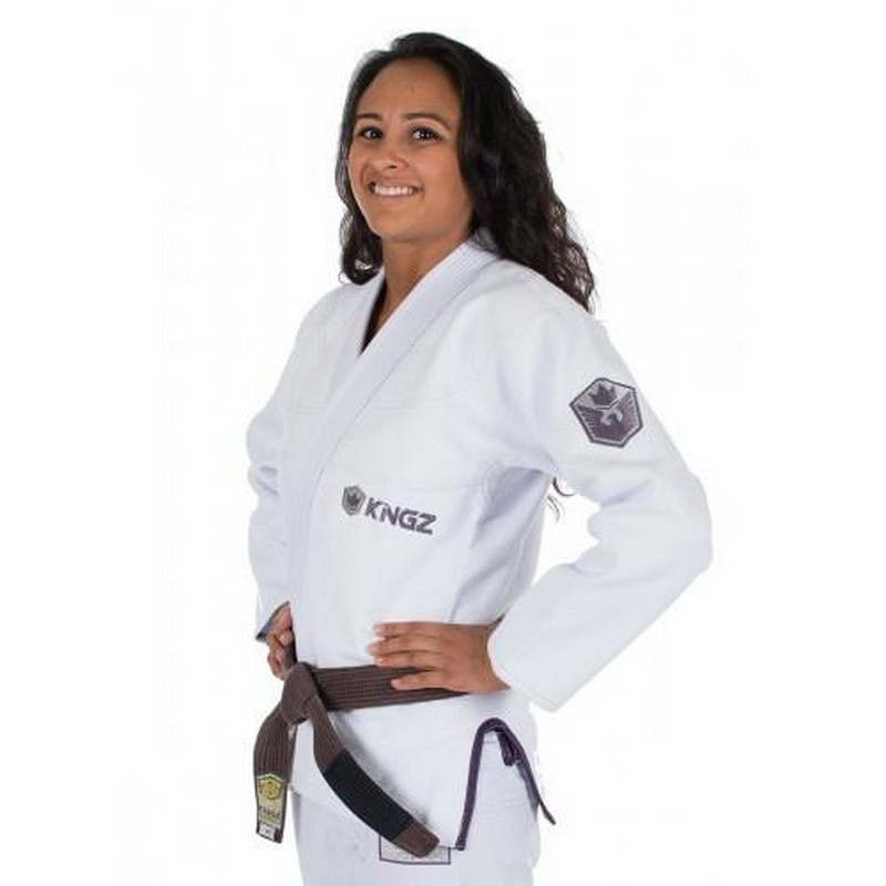 BJJ GI WOMEN KINGZ BALISTICO 2.0 WHITE