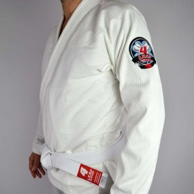 BJJ GI 4LEAF CLOVER ESSENTIEL WHITE