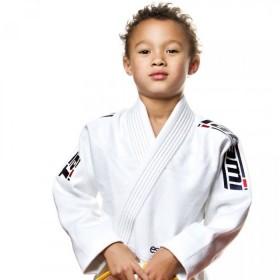 KIMONOS KIDS TATAMI FIGHTWEAR ESTILO 5.0 WHITE