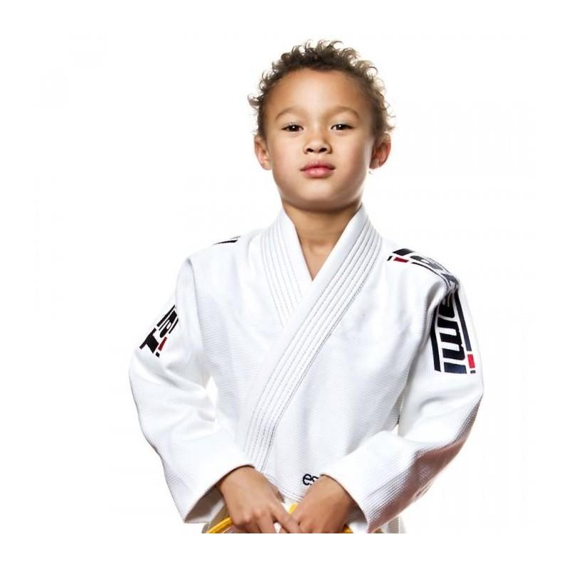 KIMONOS ENFANTS TATAMI FIGHTWEAR ESTILO 5.0 WHITE