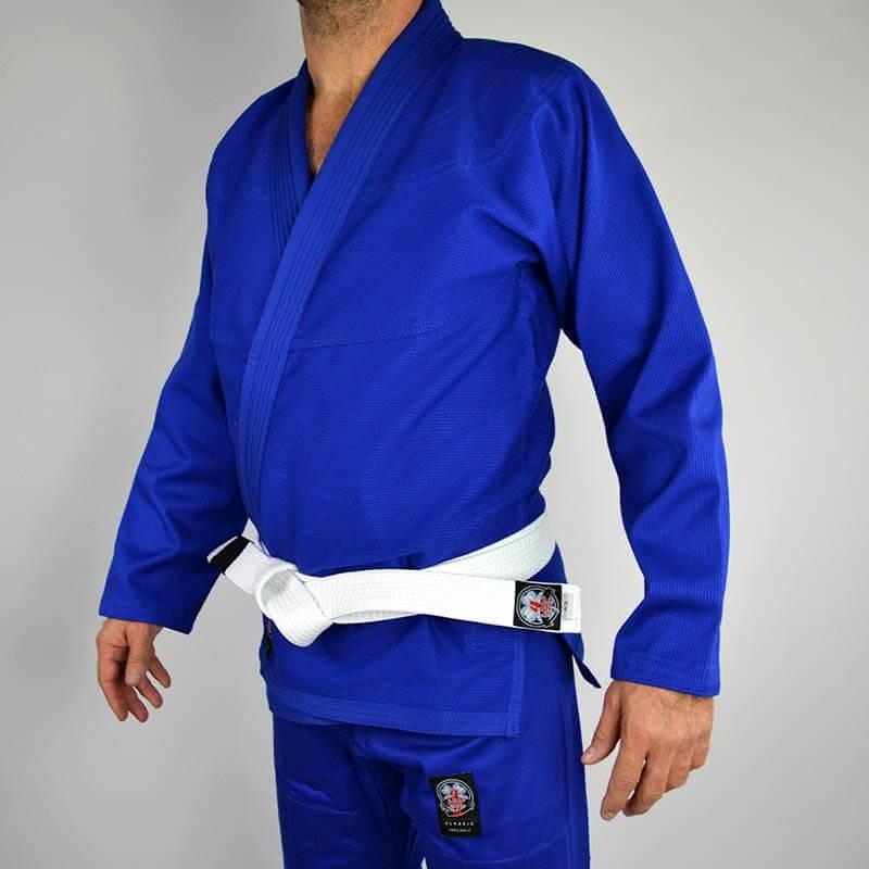 BJJ GI 4LEAF CLOVER CLASSIC V.2 BLUE