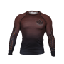 RASHGUARD JJB KINGZ CROWN IBJJF RANK 3.0 MARRON