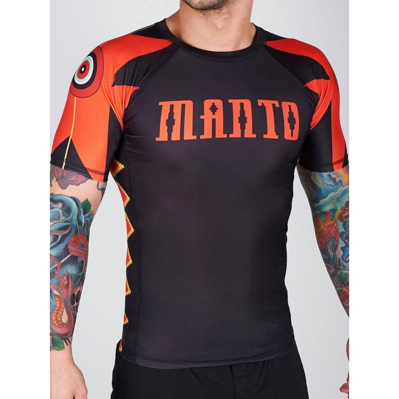 RASH GUARD MANTO JAGUAR SHORT SLEEVE