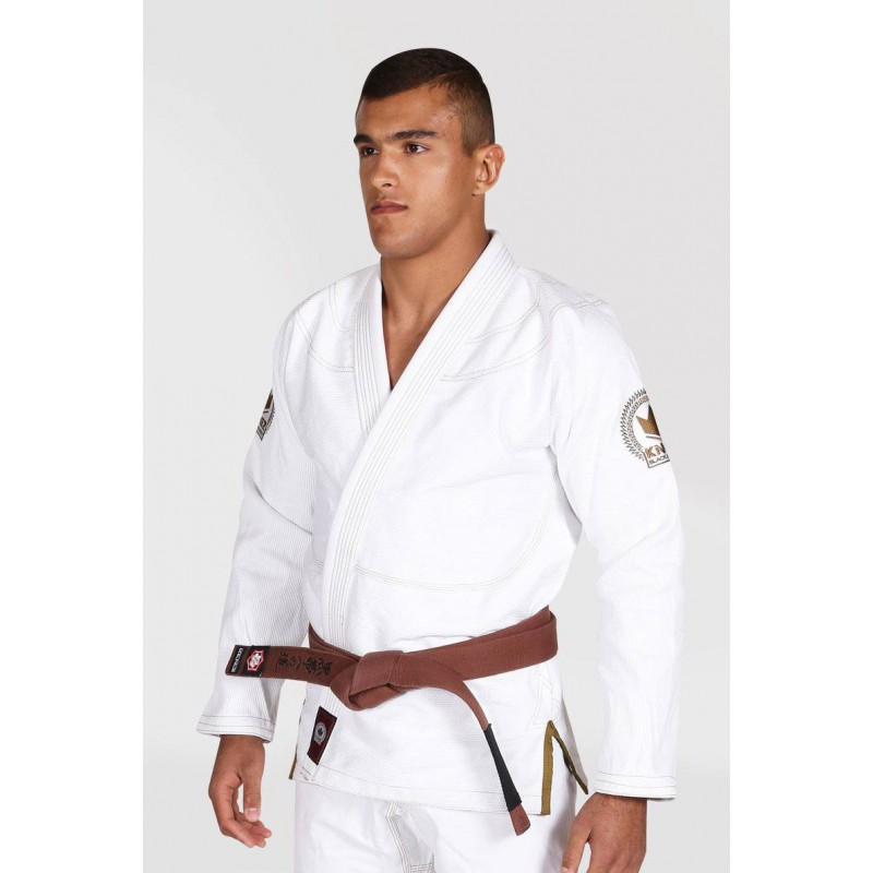 Bjj Gis KINGZ white Knight Limited Edition