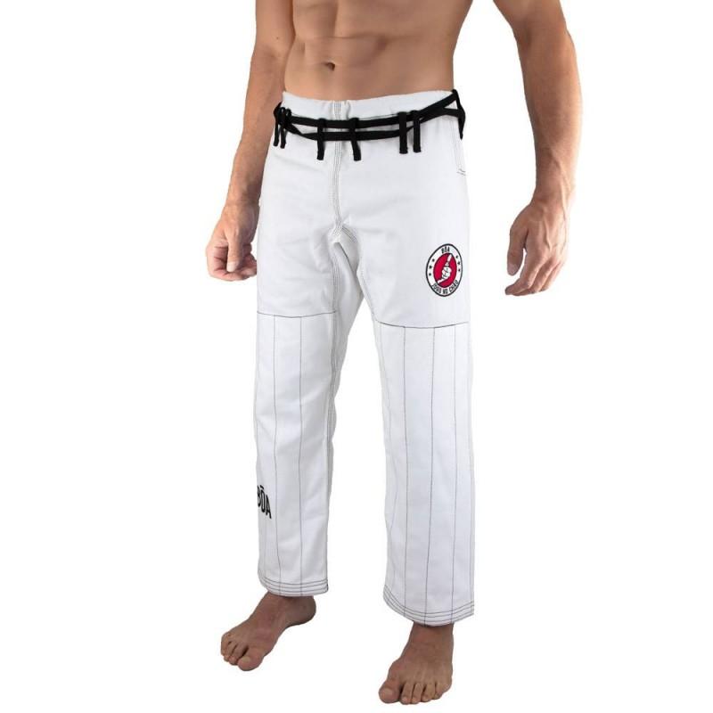 Pantalon Bõa de Jiu-Jitsu Brésilien Jogo no Chão - Blanc