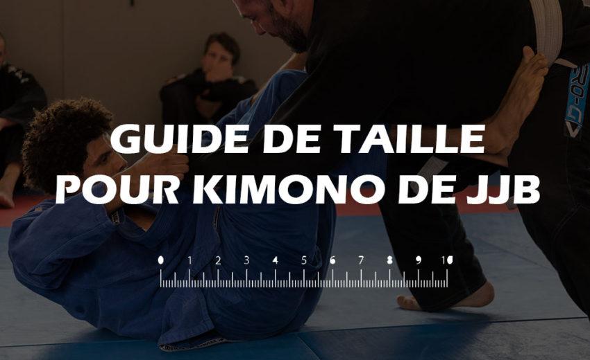 Découvrez notre guide de taille pour kimono de JJB adulte.