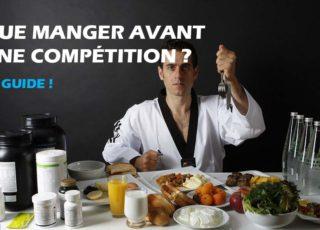 Que manger avant une compétition ?