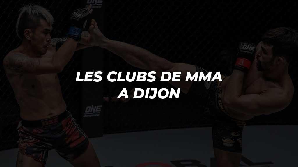 MMA Dijon | Les clubs de MMA où s'entraîner à Dijon